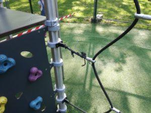 reparation aire de jeux, remise en etat aire de jeux sol aire de jeux revetement aire de jeux
